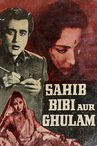 Sahib Bibi Aur Ghulam Poster
