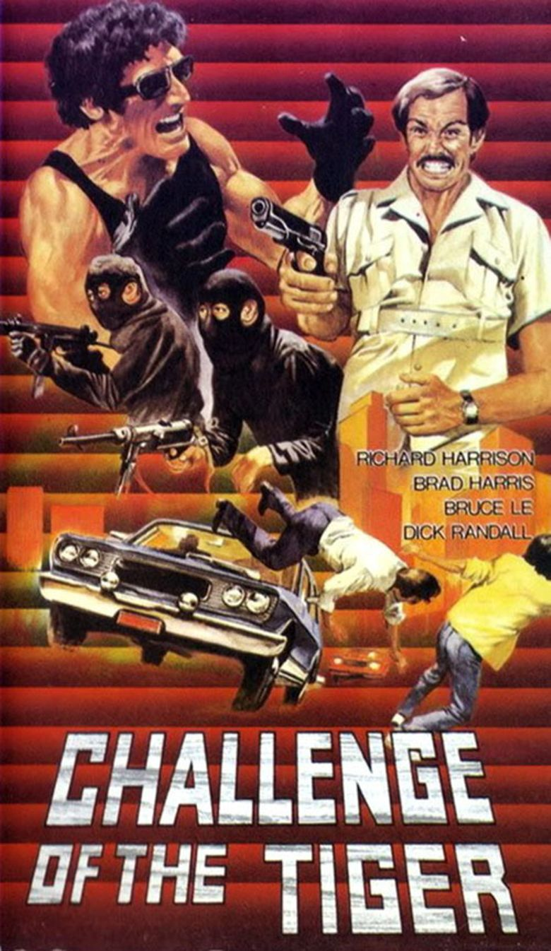 Challenge of the Tiger Poster