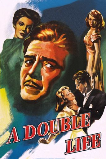 A Double Life Poster