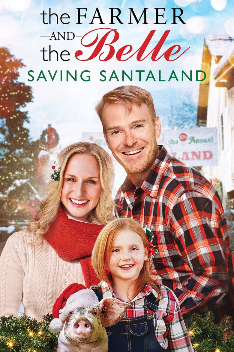 The Farmer and the Belle: Saving Santaland Poster
