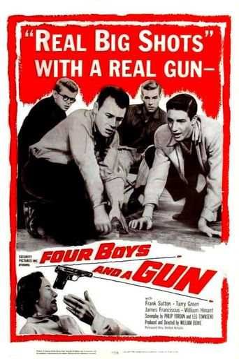 Four Boys and a Gun Poster