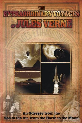 Extraordinary Voyages of Jules Verne Poster