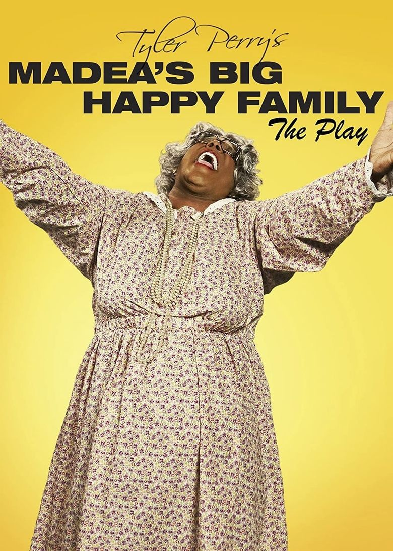 Madea's Big Happy Family The Play Poster