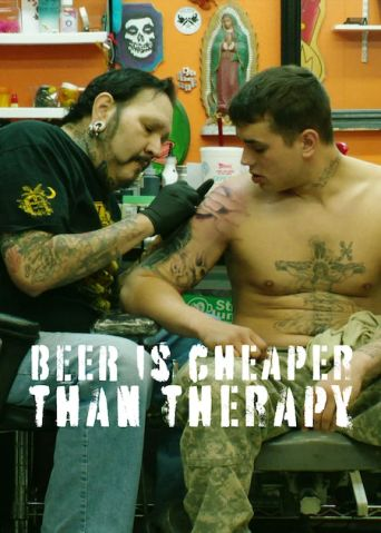 Beer Is Cheaper Than Therapy Poster