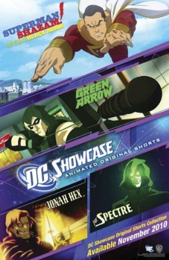 DC Showcase Original Shorts Collection Poster