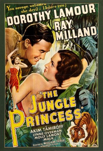 The Jungle Princess Poster