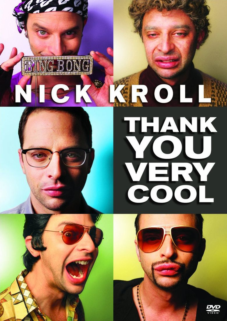 Nick Kroll: Thank You Very Cool Poster
