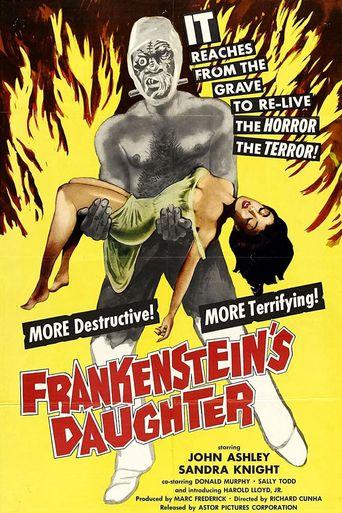 Frankenstein's Daughter Poster