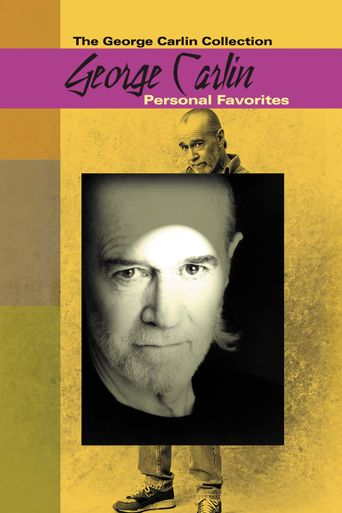 George Carlin: Personal Favorites Poster