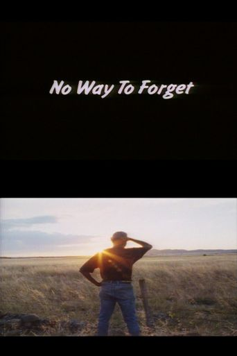No Way to Forget Poster