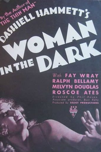 Woman in the Dark Poster