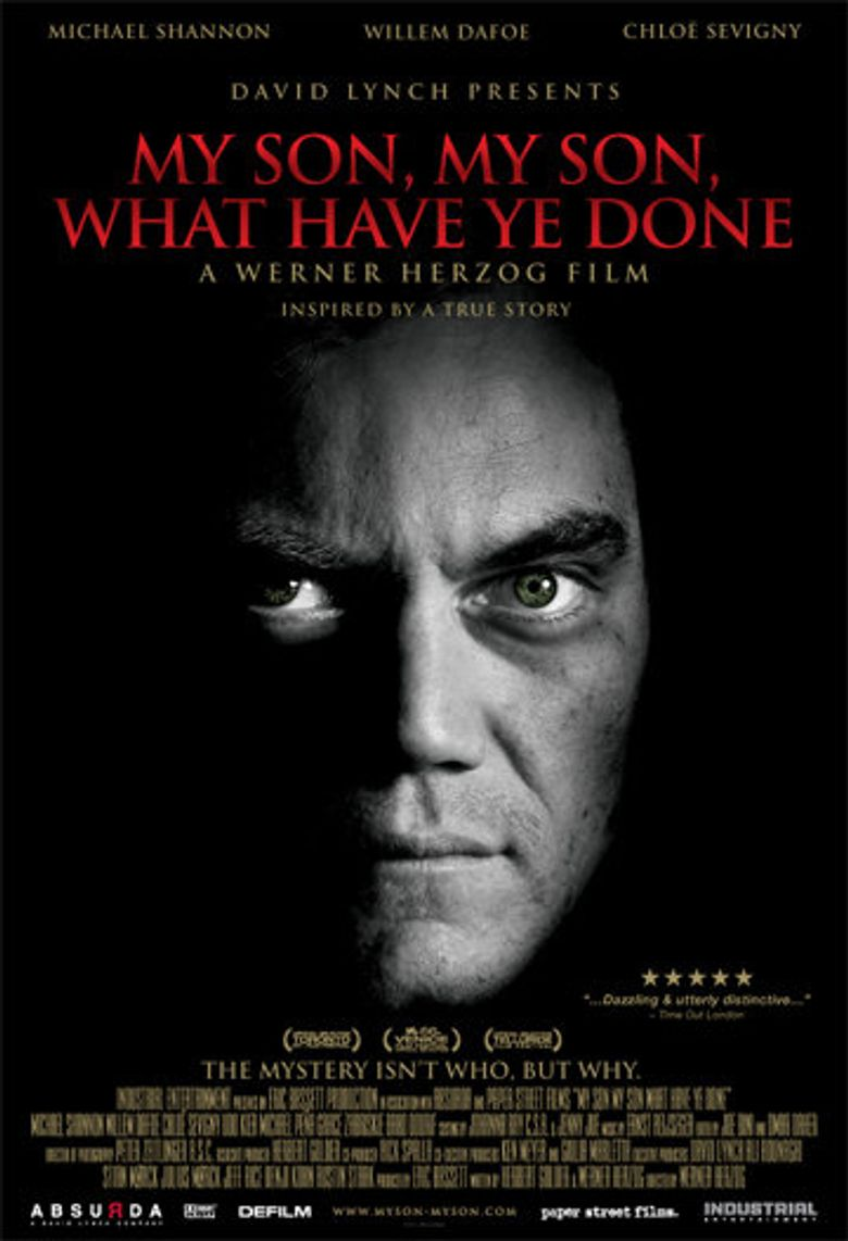 My Son, My Son, What Have Ye Done Poster