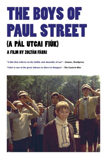 The Boys of Paul Street Poster