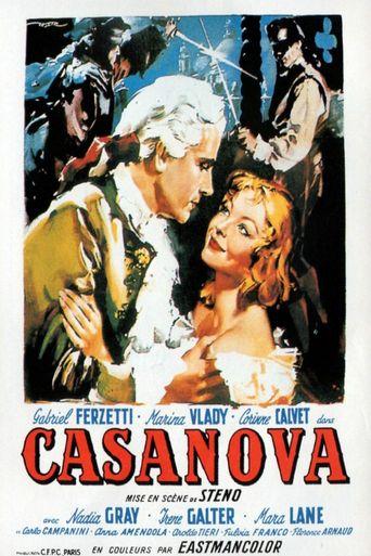 Le avventure di Giacomo Casanova Poster