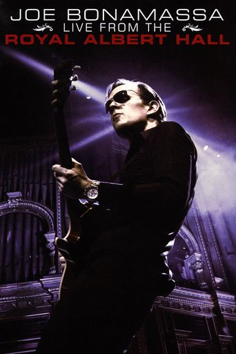 Joe Bonamassa: Live from the Royal Albert Hall Poster