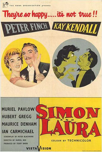 Simon And Laura Poster