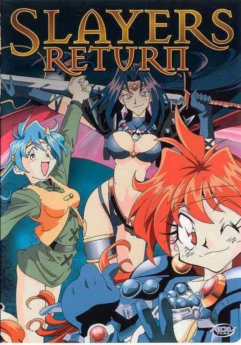Slayers Return Poster