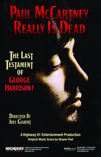 Paul McCartney Really Is Dead: The Last Testament of George Harrison Poster