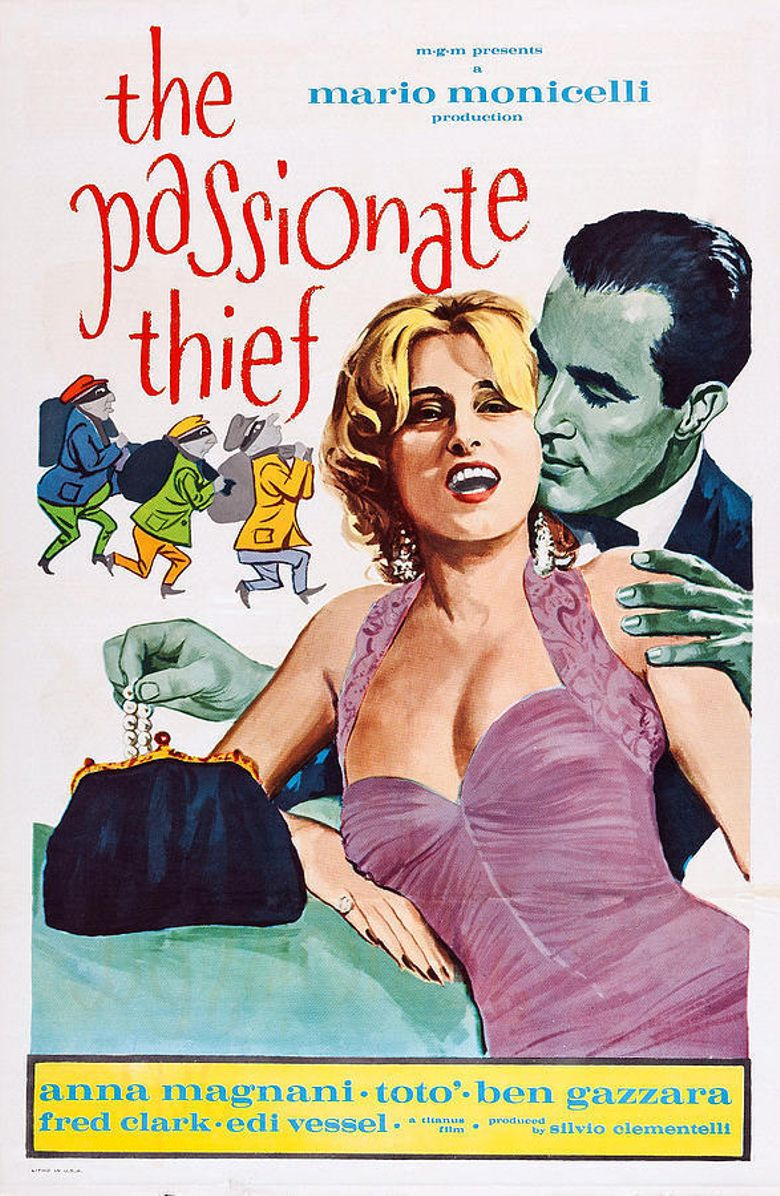 The Passionate Thief Poster