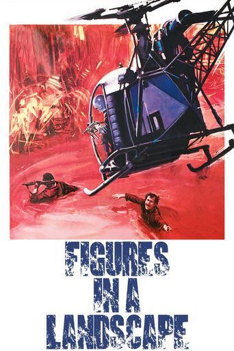 Figures in a Landscape Poster