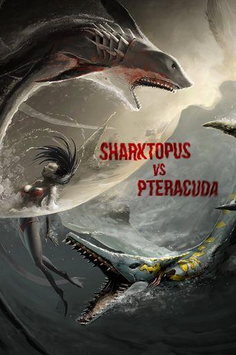 Sharktopus vs. Pteracuda Poster