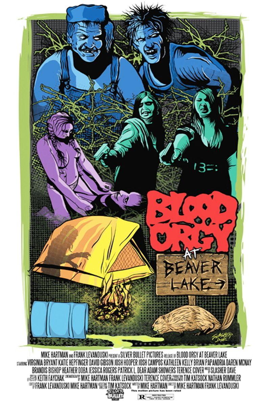 Blood Orgy At Beaver Lake Poster