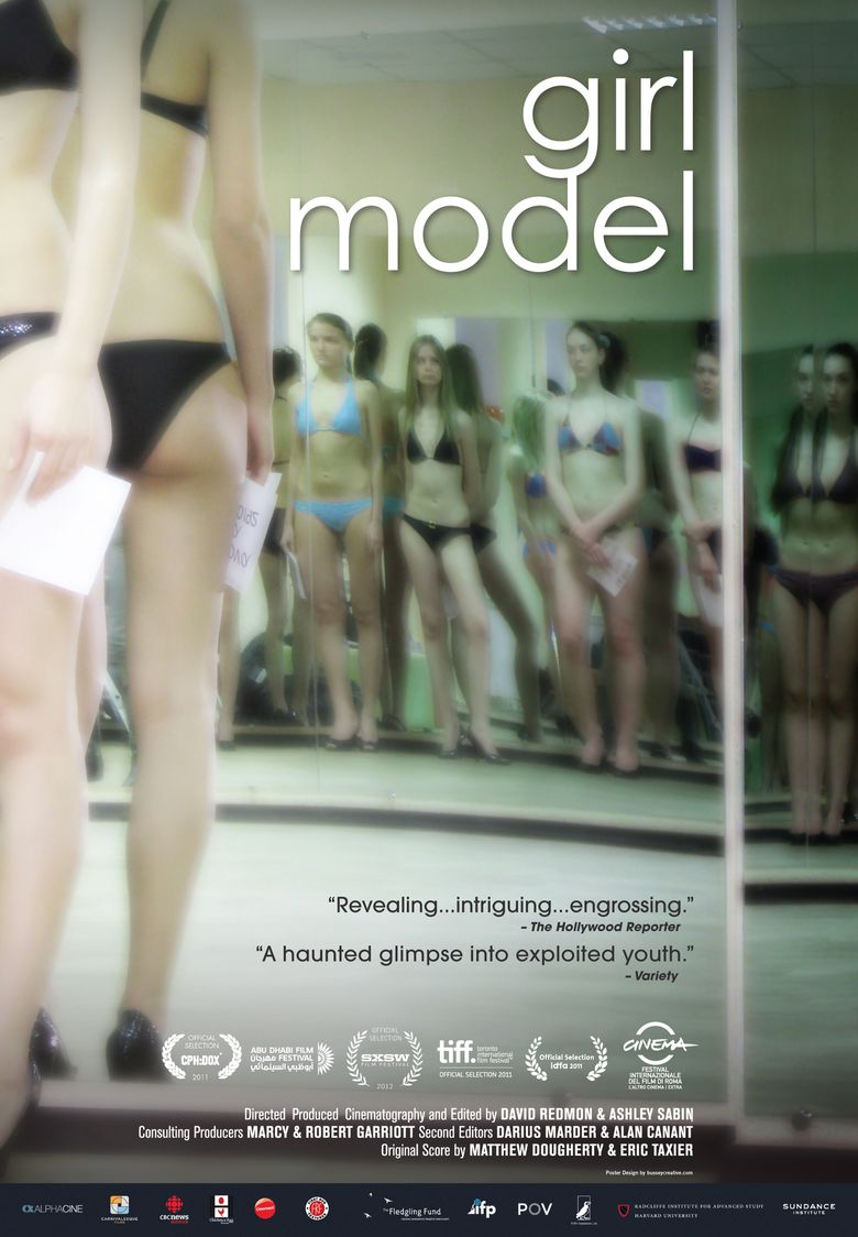 Girl Model Poster