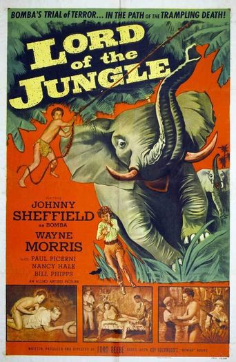 Lord of the Jungle Poster
