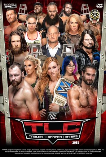 WWE TLC: Tables, Ladders & Chairs 2018 Poster