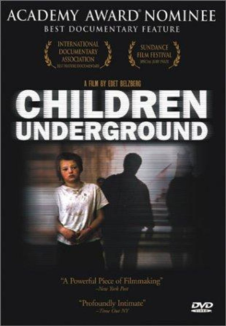 Children Underground Poster