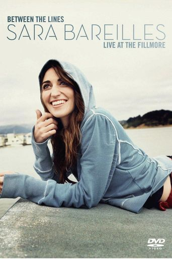 Between The Lines Sara Bareilles Live At The Fillmore Poster