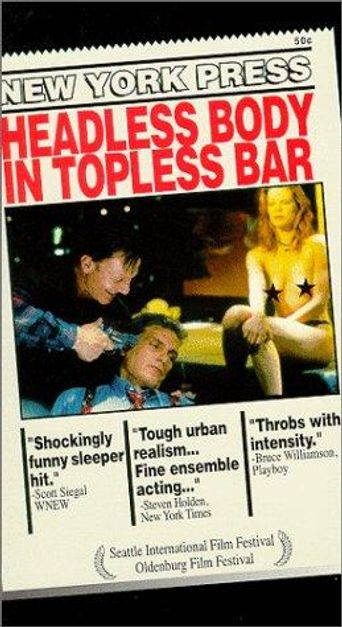 Headless Body in Topless Bar Poster