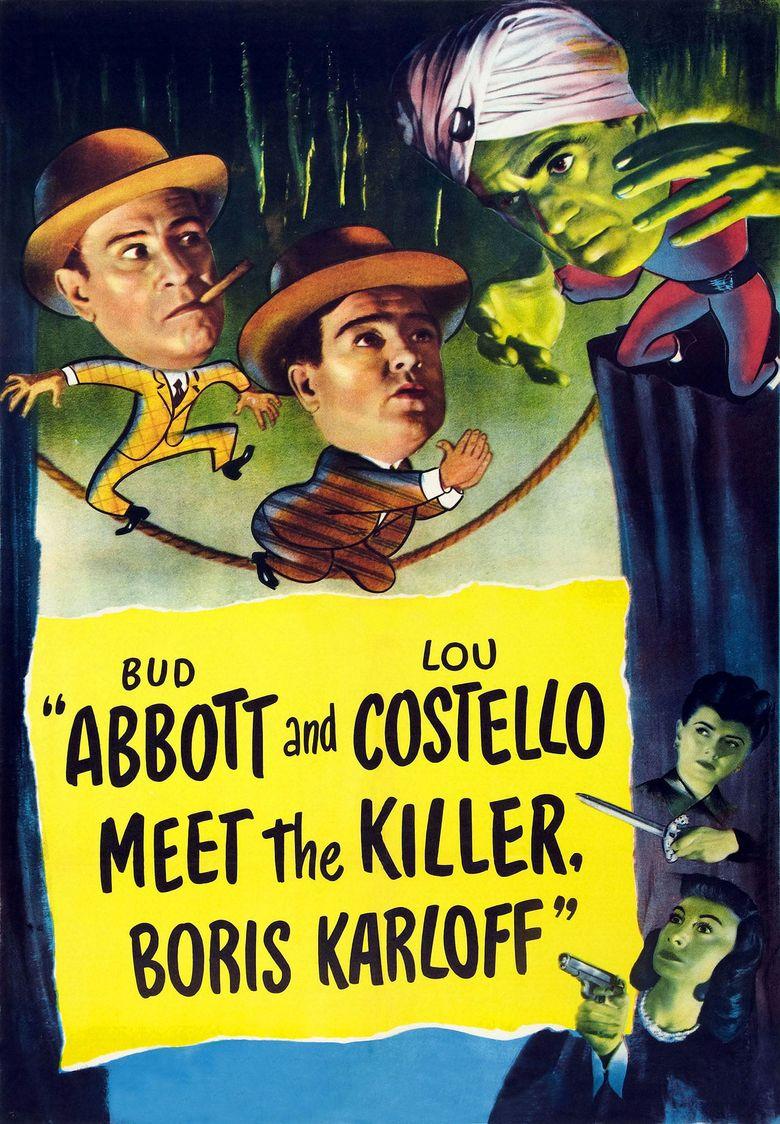 Abbott and Costello Meet the Killer, Boris Karloff Poster
