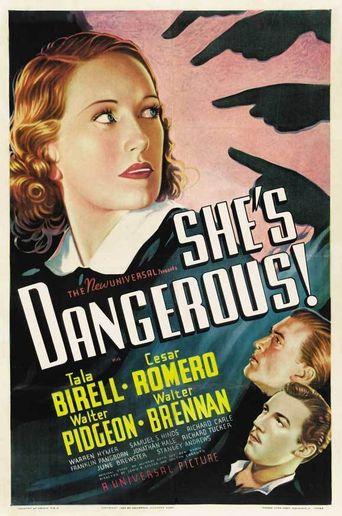 She's Dangerous Poster
