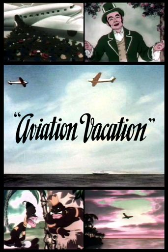 Aviation Vacation Poster