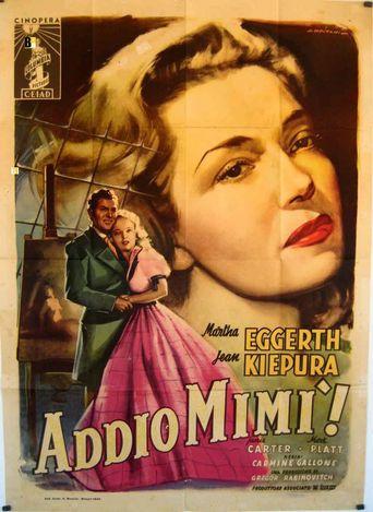 Addio Mimí! Poster