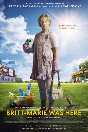Britt-Marie Was Here Poster
