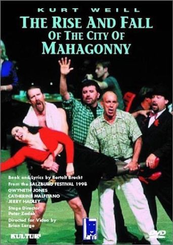 The Rise and Fall of the City of Mahagonny Poster