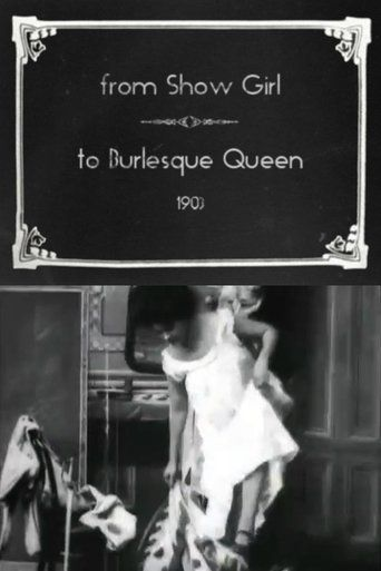 From Show Girl to Burlesque Queen Poster
