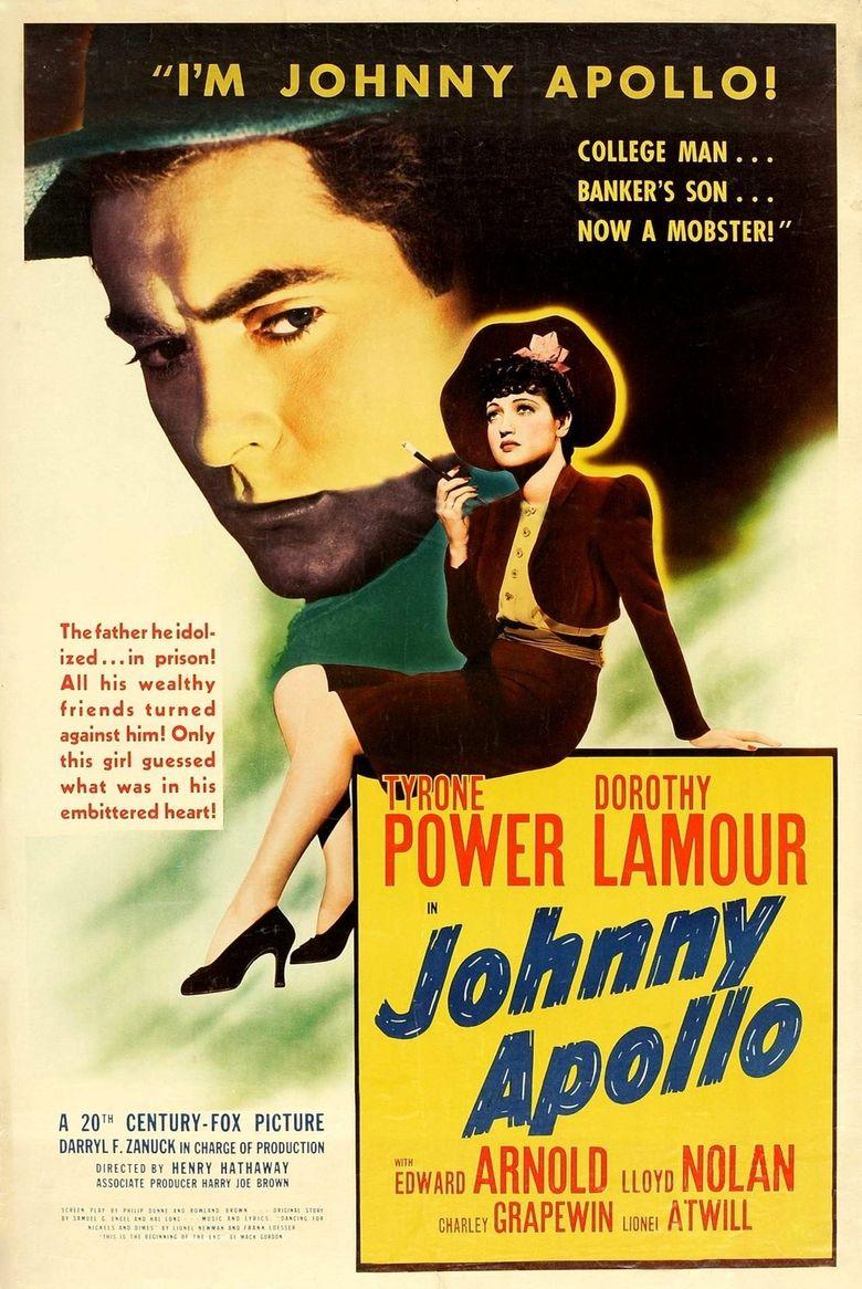 Johnny Apollo Poster