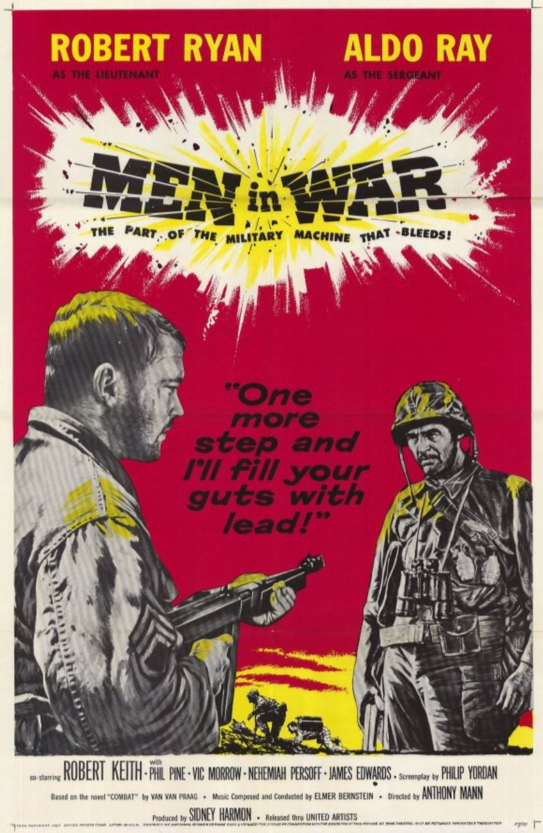 Men in War Poster