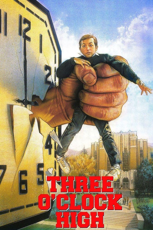 Three O'Clock High Poster