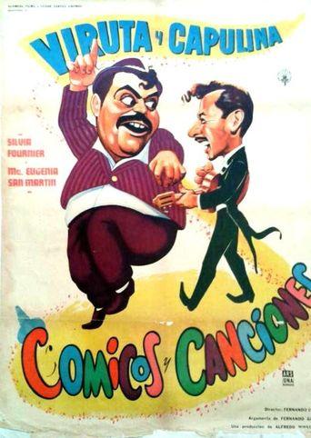 Cómicos y canciones Poster