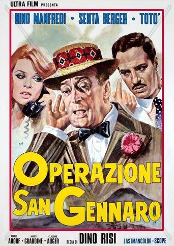 The Treasure of San Gennaro Poster