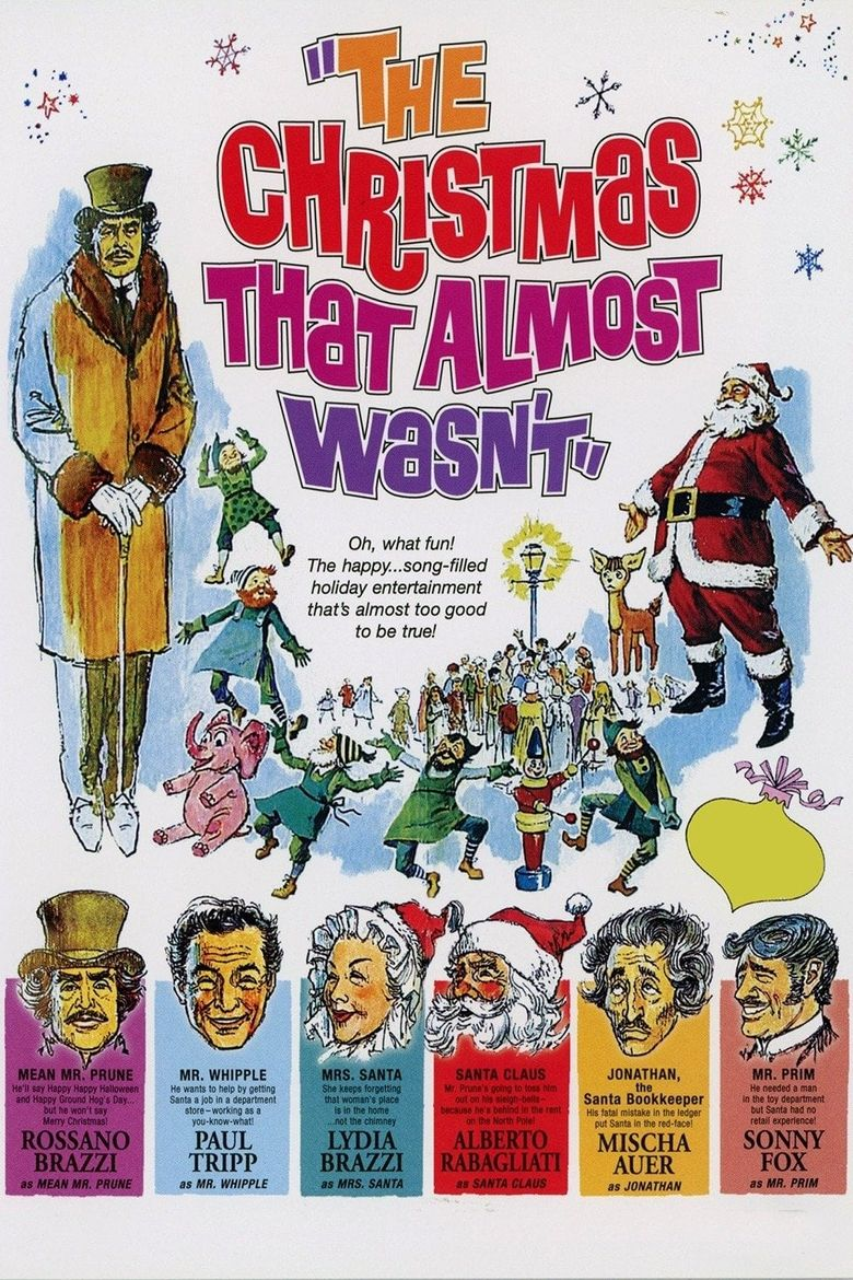 The Christmas That Almost Wasn't Poster