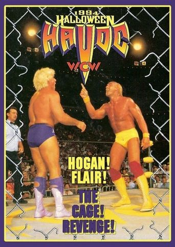 WCW Halloween Havoc 1994 Poster