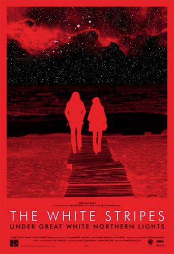 The White Stripes: Under Great White Northern Lights Poster