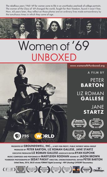 Women of '69, Unboxed Poster
