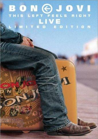 Bon Jovi - This Left Feels Right Live Poster