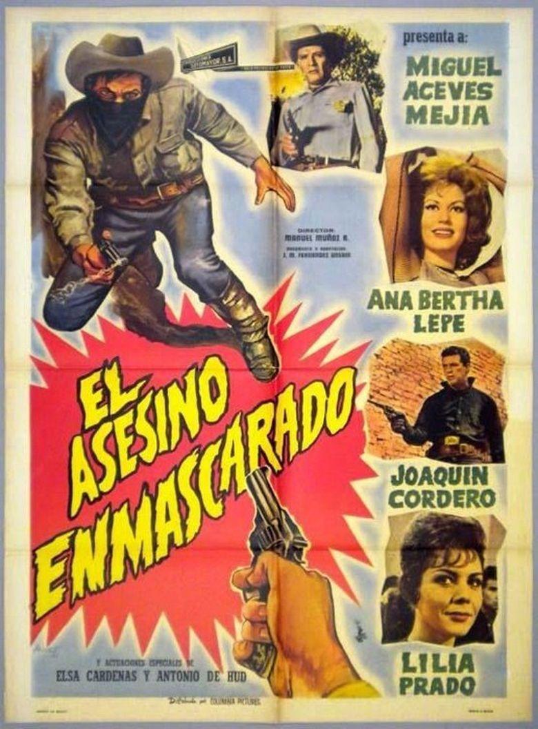 El asesino enmascarado Poster